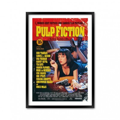 Pulp Fiction Poster.