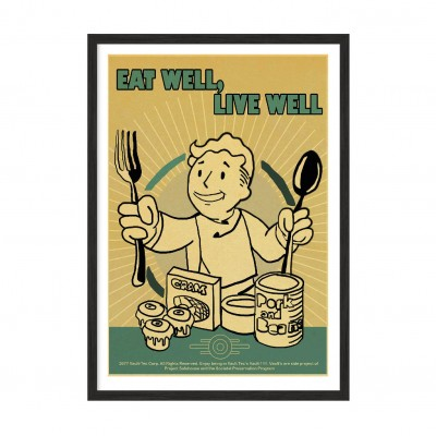 Eat Well - Live Well.