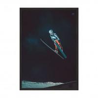 Ski jump.
