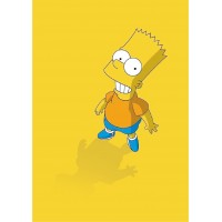 Постер Барт Симпсон