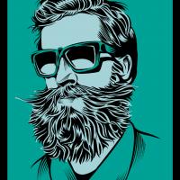 "Постер ""Борода"""