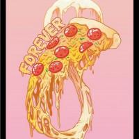 Арт Постер Love pizza