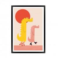 Постер Крокодил.