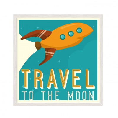 Travel to the Moon.