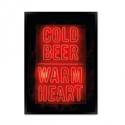 Cold beer.