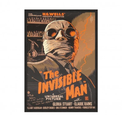 The Invisible Man.