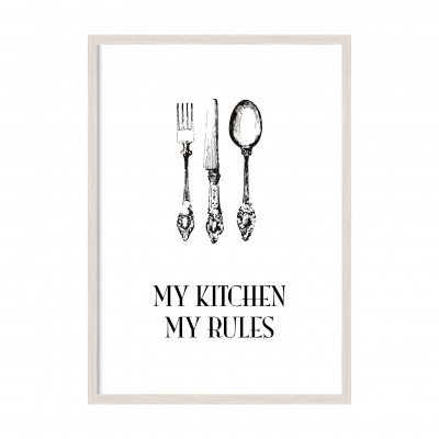 My kitchen - my rules.