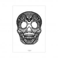 Раскраска - Death's-head.