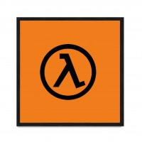 Half-Life Logo.