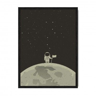 On the Moon.