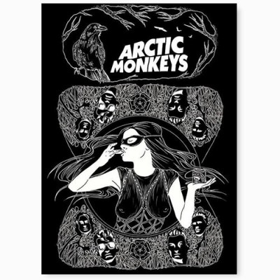 Постер arctic monkeys