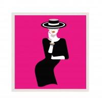 Pink Lady - Pop Art.