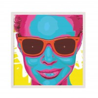 Glasses - Pop Art.