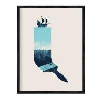 """Ретро постер """"Море"""""""