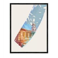 """Ретро постер """"Время путешествовать"""""""