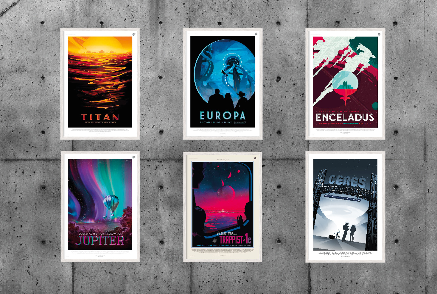 Nasa 6 - Space Posters.
